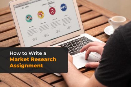 How to write market research assignment